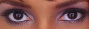 eyes of Halle~Berry