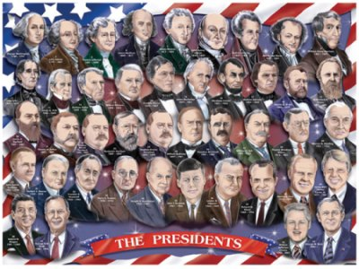 Mnemonic the american presidents for Pictures of all presidents of the united states in order